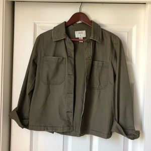 Forever 21 Cotton Jacket with pockets, size S